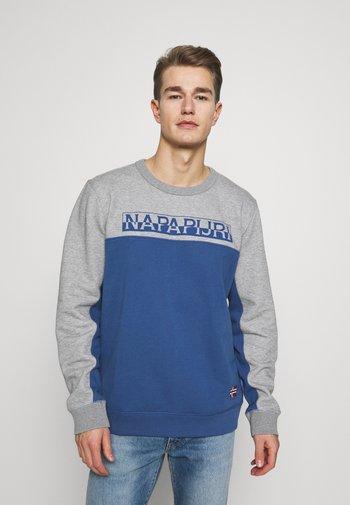 Sweatshirt - blue navy