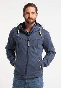 Schmuddelwedda - Outdoor jacket - marine melange - 0