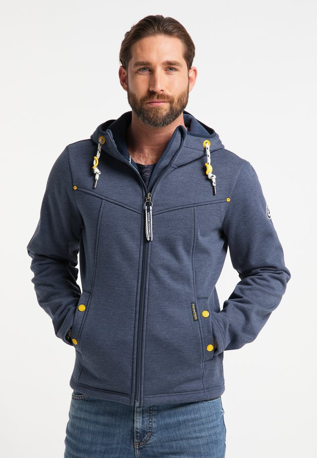 Outdoor jacket - marine melange