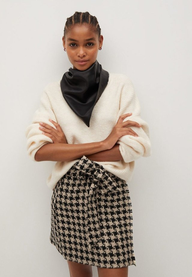 Mini skirt - middenbruin