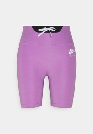 AIR SHORT - Leggings - violet shock/black/silver