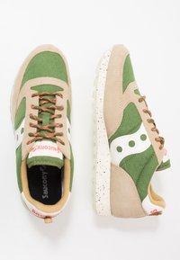 Saucony - JAZZ ORIGINAL OUTDOOR - Sneaker low - brown/green - 1