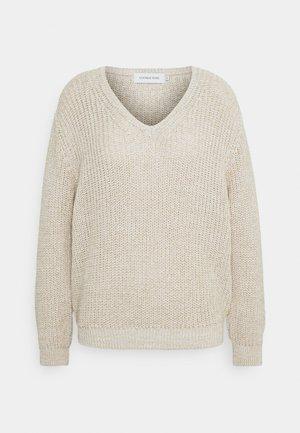 LNEMMELINE - Jumper - soft beige