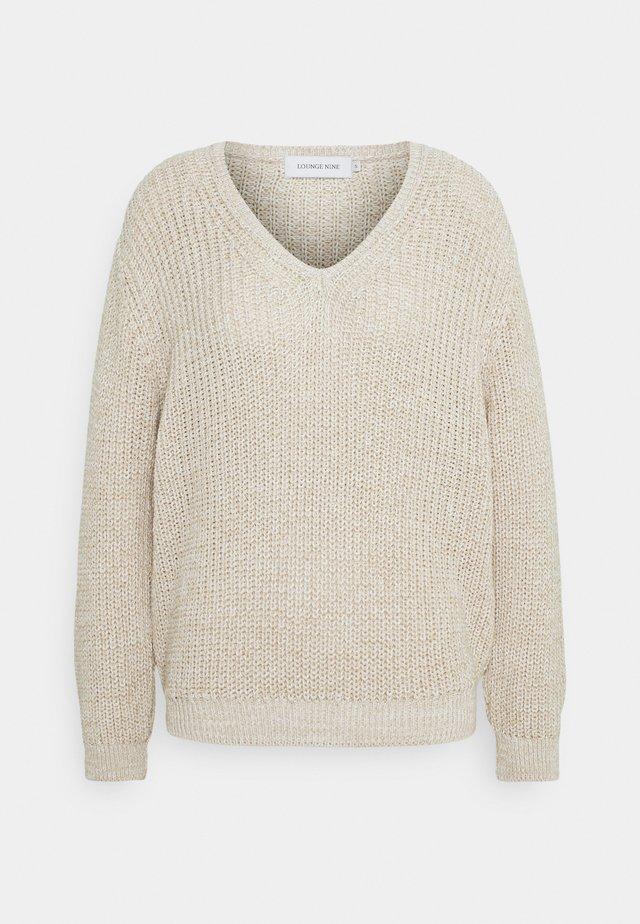 LNEMMELINE - Trui - soft beige