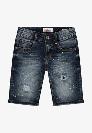 CLAAS CRAFTED - Denim shorts - cruziale blue