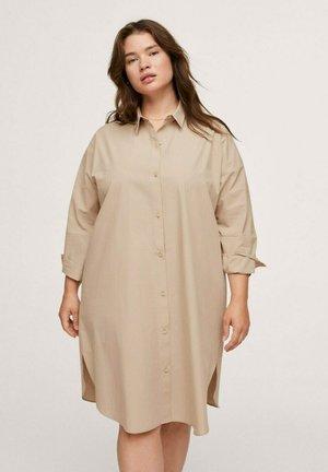 OLFO - Shirt dress - middenbruin