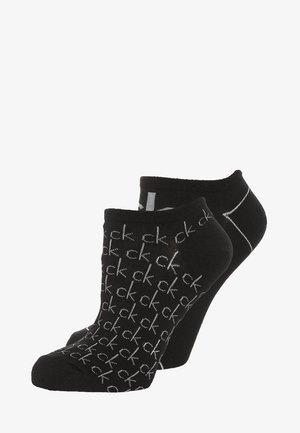REPEAT LOGO SNEAKER 2 PACK - Socks - black