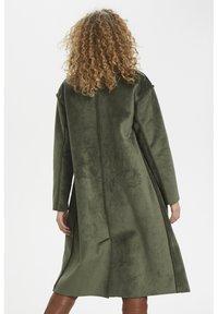 Denim Hunter - DHBELLE SHEARLING COAT - Płaszcz wełniany /Płaszcz klasyczny - forest night - 5