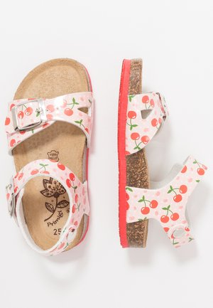 Sandals - rosa/rosso