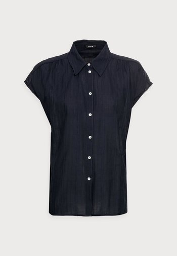 FASPI - Button-down blouse - mystic blue