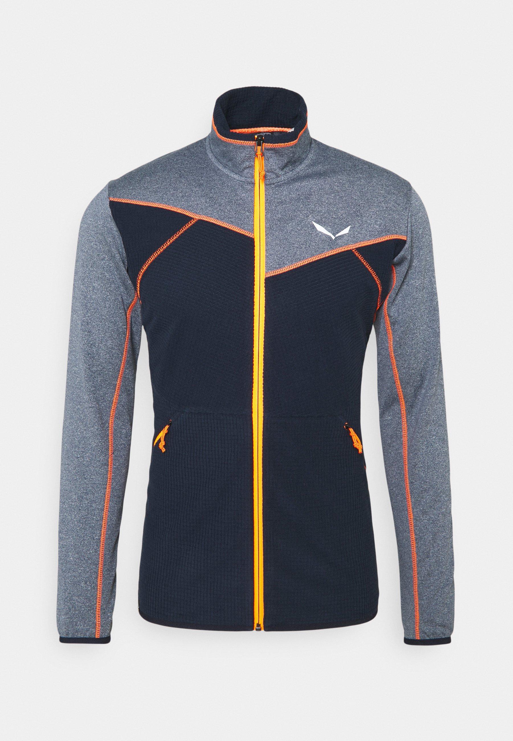 Men PUEZ HYBRID - Fleece jacket