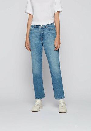 Straight leg jeans - turquoise