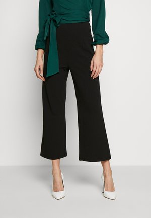 ROO TROUSERS - Bukse - black