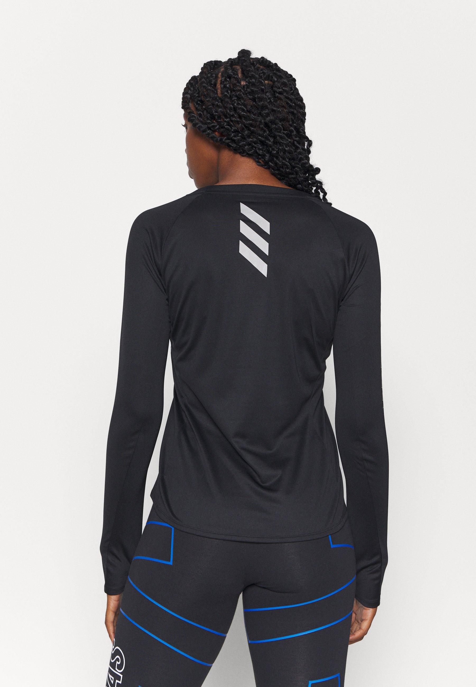 adidas Performance REFLECTIVE - Sports shirt - black oADdE