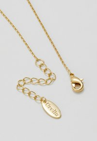 Orelia - TEARDROP DITSY NECKLACE - Halskette - pale gold-coloured - 2