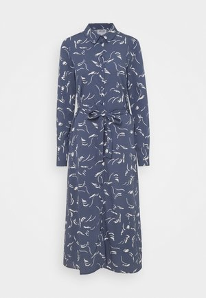 VMODEA CALF DRESS  - Blousejurk - vintage indigo/ birch