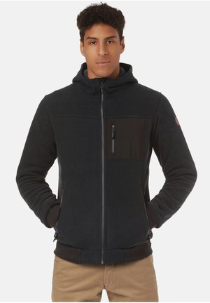 Sweater met rits - black/ black iris