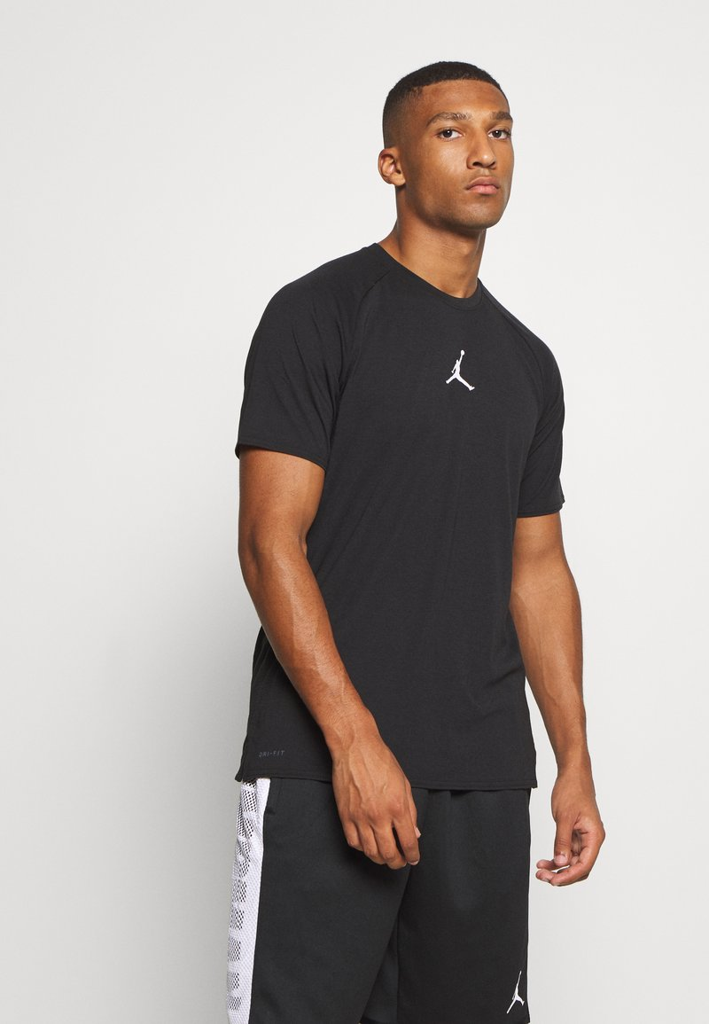 Jordan - AIR - Print T-shirt - black/white