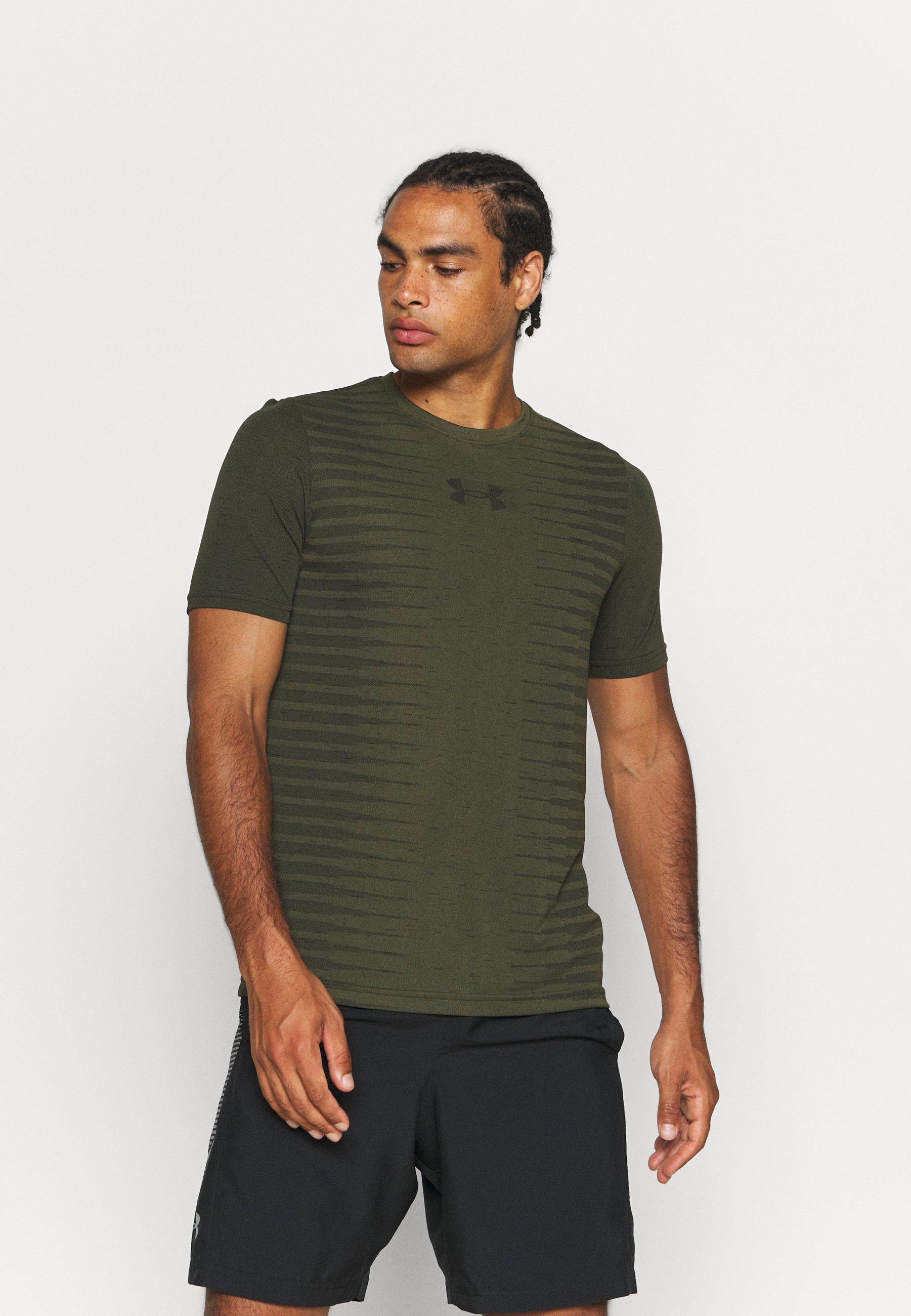 Men SEAMLESS WORDMARK - Print T-shirt