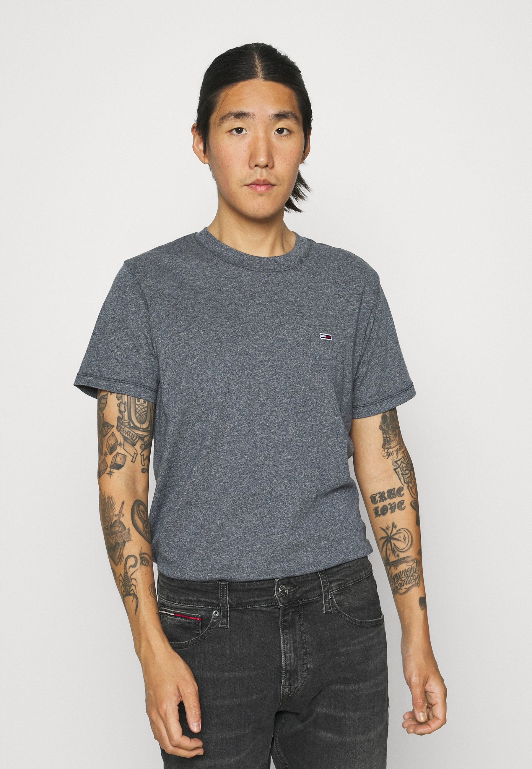Men C NECK TEE - Basic T-shirt