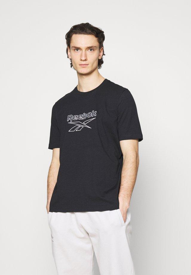 VECTOR TEE - T-shirt print - black
