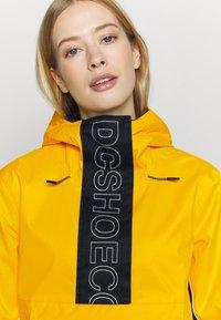 DC Shoes - ENVY ANORAK - Snowboard jacket - lemon chrome - 3