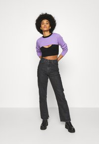 The Ragged Priest - DOUBLE LAYER - Maglione - black/lilac - 1