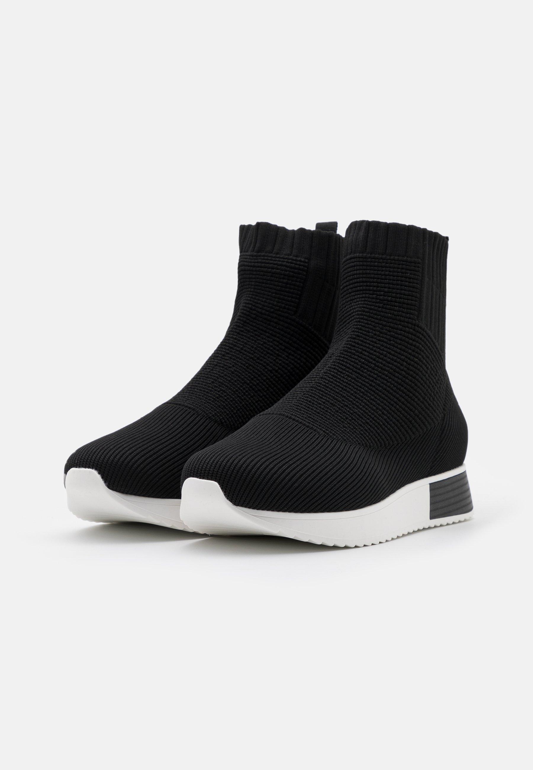 River Island Sneaker high black/schwarz