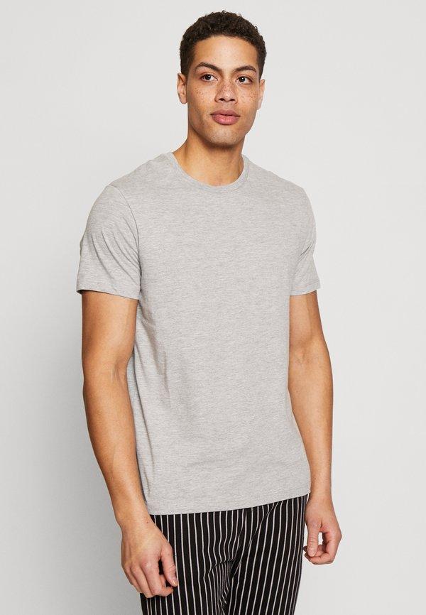 Burton Menswear London 5 PACK - T-shirt basic - white/biały Odzież Męska KTIY