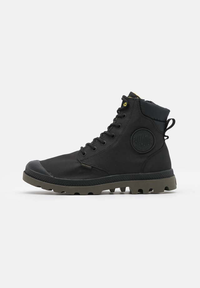PAMPA RCYCL WP+ - Lace-up ankle boots - black