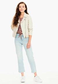 Garcia - Faux leather jacket - sand - 0