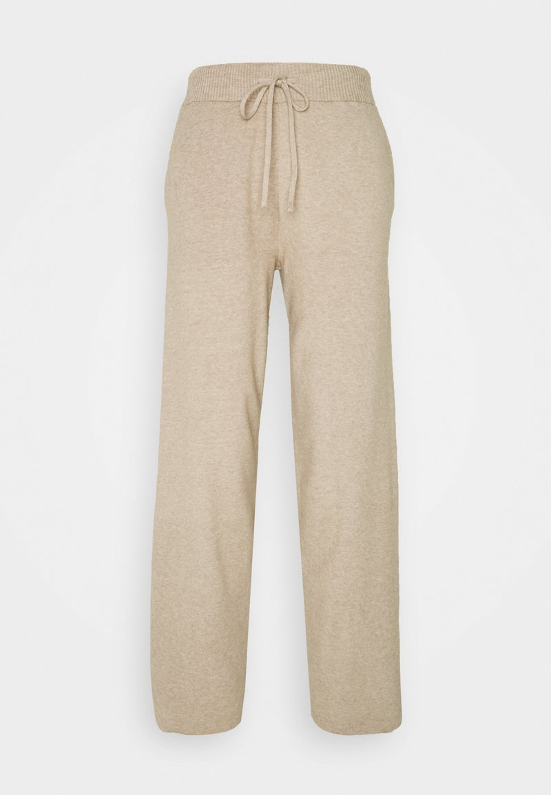 Anna Field - COMFY LOUNGE KNIT TROUSER - Bukse - mottled dark brown