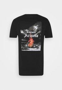 274 - CACTUS FLAME TEE - Print T-shirt - black - 7
