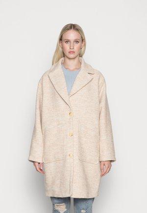 MANDOLINE COAT ICON - Klasický kabát - creme