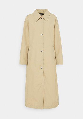 LONGLINE - Classic coat - stone