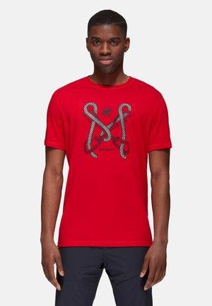 SLOPER - Print T-shirt - red