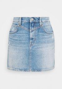 RACHEL SKIRT - Mini skirt - denim
