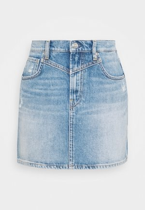 RACHEL SKIRT - Mini skirt - denim