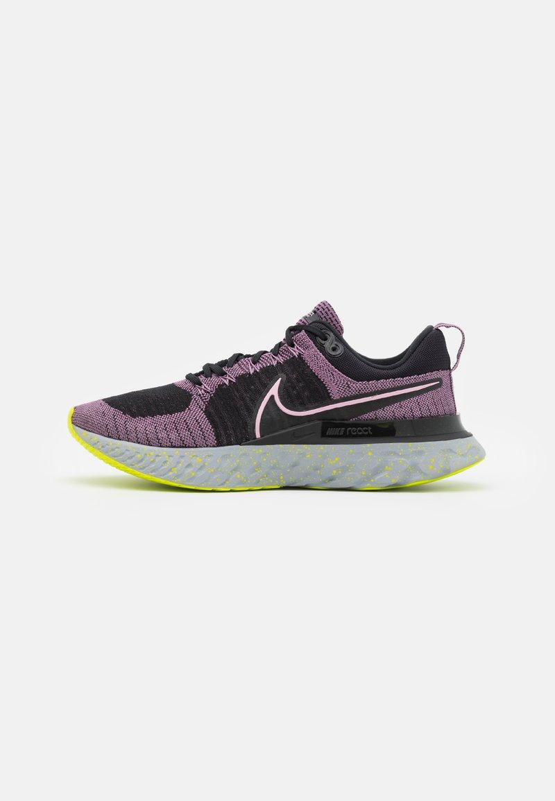 Nike Performance - REACT INFINITY RUN FK 2 - Neutral running shoes - violet dust/elemental pink/black/cyber