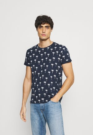 FRIEDMAN - T-shirt print - dunkelblau