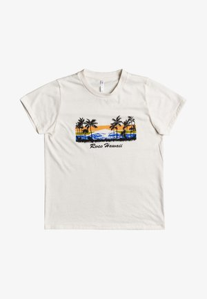 Hawaii  - T-shirt print - vintage white