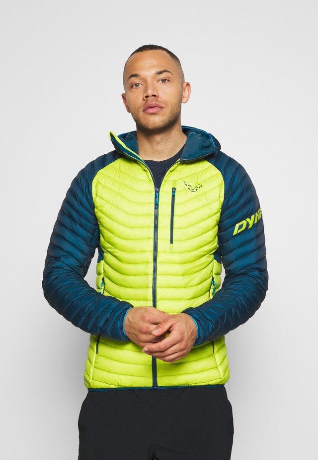 RADICAL HOOD - Down jacket - moss