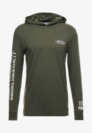 ONSWF DEAN TEE HOODIE  - Sweat à capuche - forest night