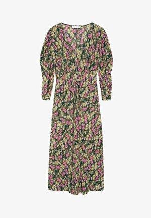 Korte jurk - aardbeirood