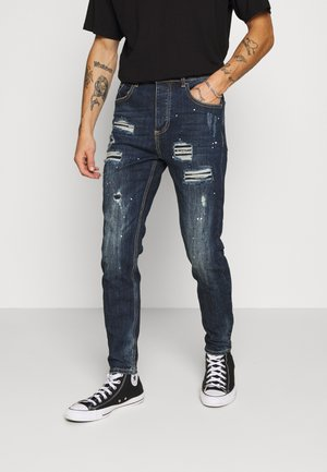 ROCKET CARROT - Jeans Tapered Fit - indigo
