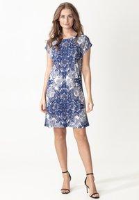 Indiska - LENNY - Day dress - blue - 0