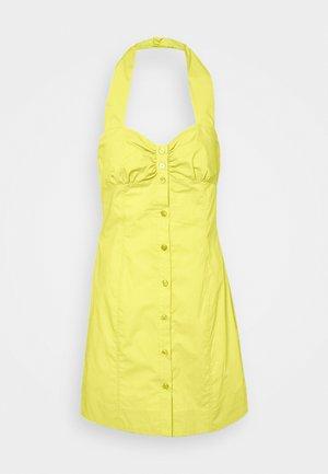INNOCENTE ABITO POPELINE PESANTE - Day dress - yellow
