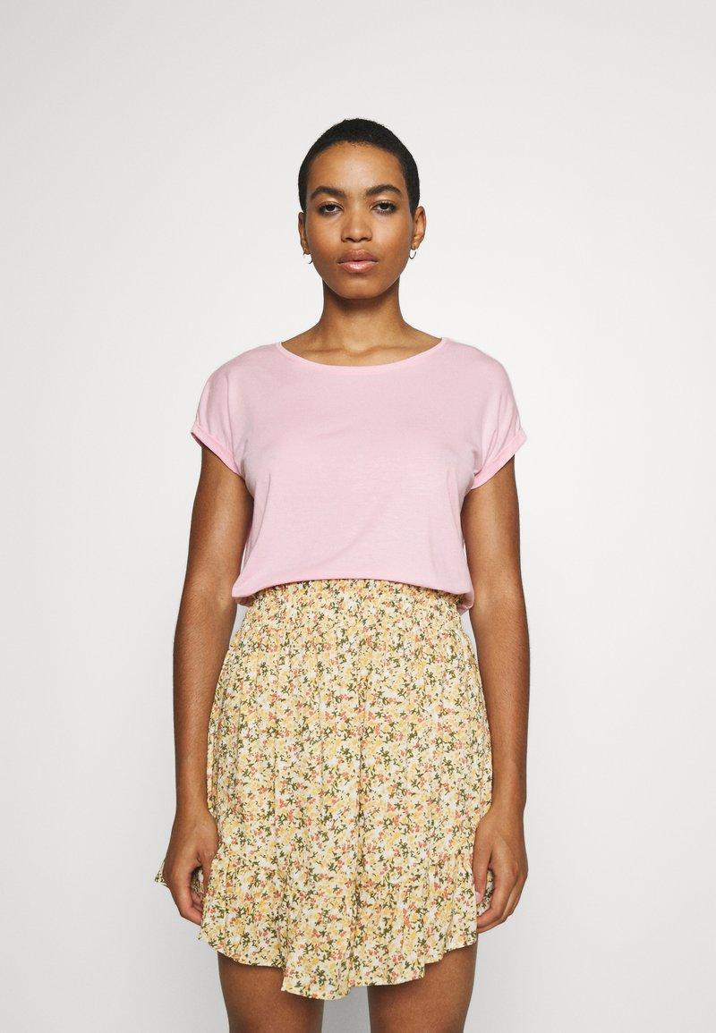 Vero Moda - Jednoduché triko - roseate spoonbill