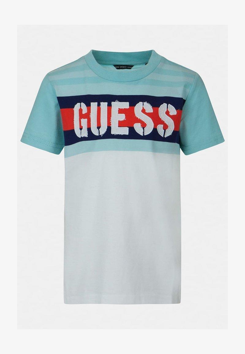 Guess - Print T-shirt - mehrfarbig, weiß