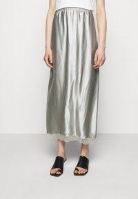 MM6 Maison Margiela - A-line skirt - light grey - 0